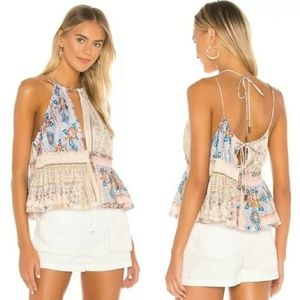 Free People/ Bellini patchwork top